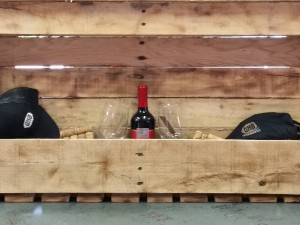 Great Northern Builders custom wine racks